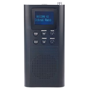Roadstar TRA-70D+/BK tragbares DAB+/UKW-Radio - Bild 1