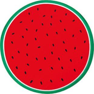 EASYmaxx Strandtuch XL Wassermelone rund 150cm rot/grün Mikrofaser - Bild 1