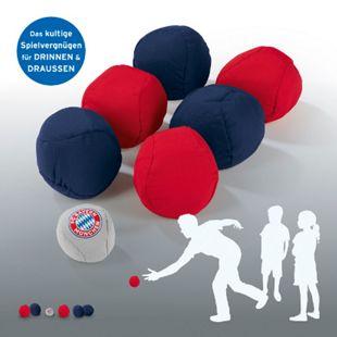 FCB Soft-Boule Set 7-tlg. blau/rot/grau - Bild 1
