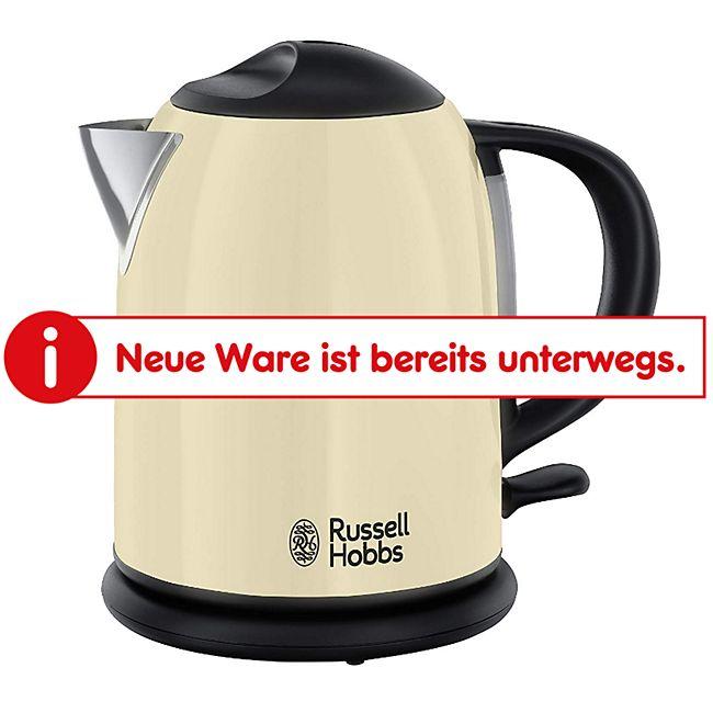 Russell Hobbs 20194-70 Kompakt-Wasserkocher Colours Plus+ Classic Cream - Bild 1
