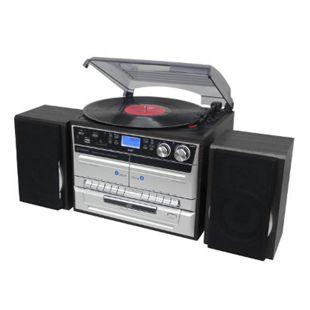 Soundmaster MCD5550SW Stereo-HiFi-Musikcenter / DAB+ Radio und Encording Silber/Schwarz - Bild 1