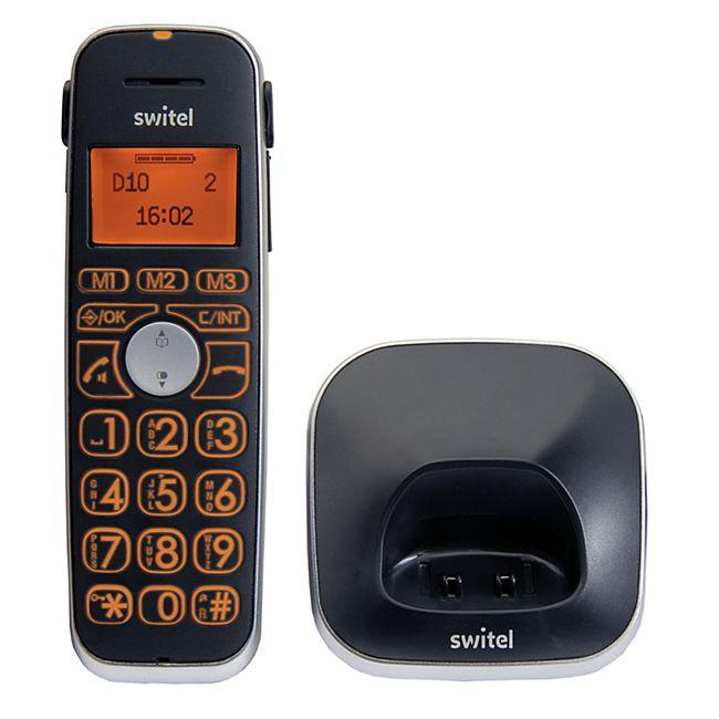 Switel D10 Vita Comfort Zusätzliches Mobilteil mit Ladeschale - Bild 1