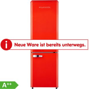 Wolkenstein KG250.4 RT A++ FR Retro-Kühl-Gefrierkombination 177 cm rot - Bild 1