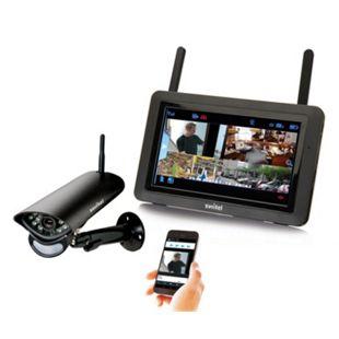 Switel HSIP5700 Digitales Funk-Überwachungssystem mit Fernzugriff über App - Bild 1