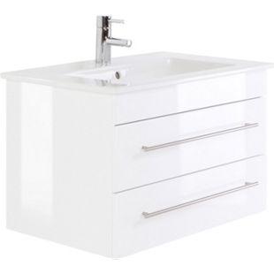 Villeroy & Boch Waschbecken Venticello 80 cm, mit POSSEIK Unterschrank, weiss hochglanz - Bild 1