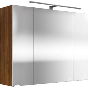 Spiegelschrank - multi-use - walnuss | Bad > Badmöbel > Spiegelschränke fürs Bad | Posseik