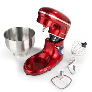GOURMETmaxx Küchenmaschine 1500W rot - Bild 1