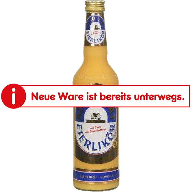 Gutshaus Eierlikör 20,0 % vol 0,7 Liter - Bild 1
