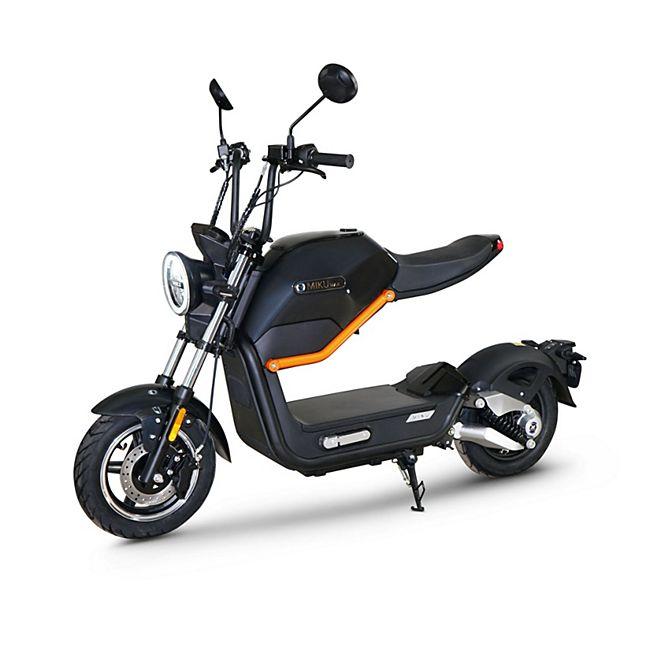 MIKU MAX e-scooter mit BOSCH Motor schwarz - Bild 1