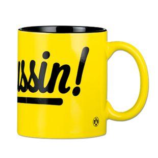 BVB Kaffeebecher Borussin 350ml gelb/schwarz - Bild 1