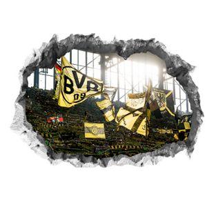 BVB Wandtattoo 3D Fankurve mehrfarbig - Bild 1