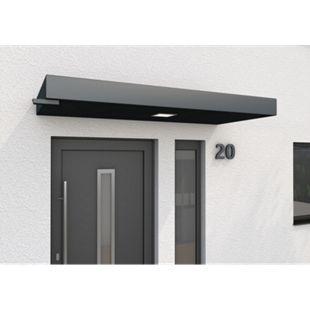 Gutta BS PLUS 200 Rechteckvordach mit Wasserspeier links - Bild 1