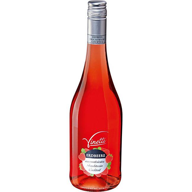 Vinetti Erdbeere arom. Fruchtwein Cocktail 8,0 % vol 0,75 Liter - Bild 1