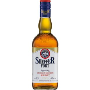 Sheffer Fort Bourbon Whiskey 40,0 % vol 0,7 Liter - Bild 1