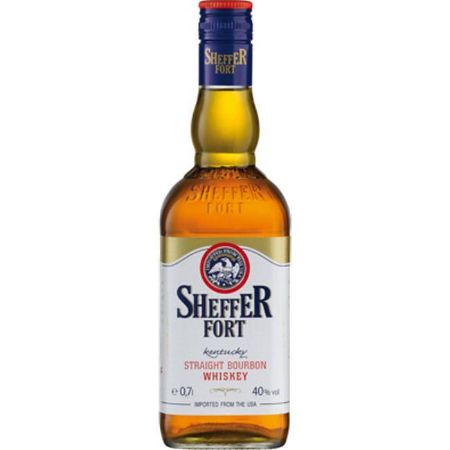Sheffer Fort Bourbon Whiskey 40,0 % vol 0,7 Liter - Bild 1