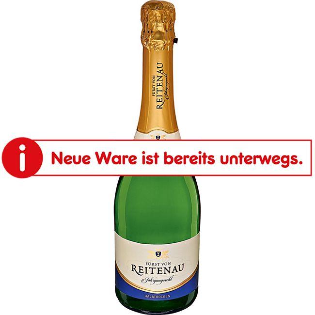 Fürst von Reitenau Sekt halbtrocken 11,0 % vol 0,75 Liter - Bild 1