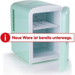 GOURMETmaxx Mini-Kühlschrank Retro 45W, mint - Bild 1