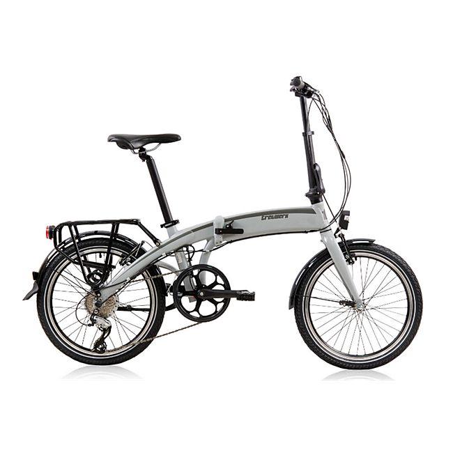 Tretwerk Wega 20 Zoll Faltrad E-Bike Grau 32 cm - Bild 1