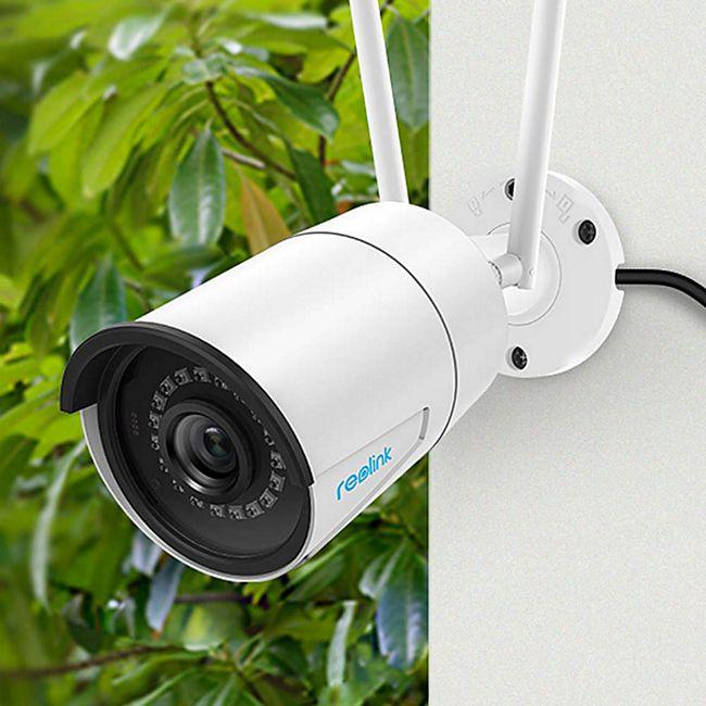 Reolink »Reolink RLC-410W 4MP Dualband-WLAN« Überwachungskamera (Außenbereich) inkl. 64 GB Micro SD - Bild 1