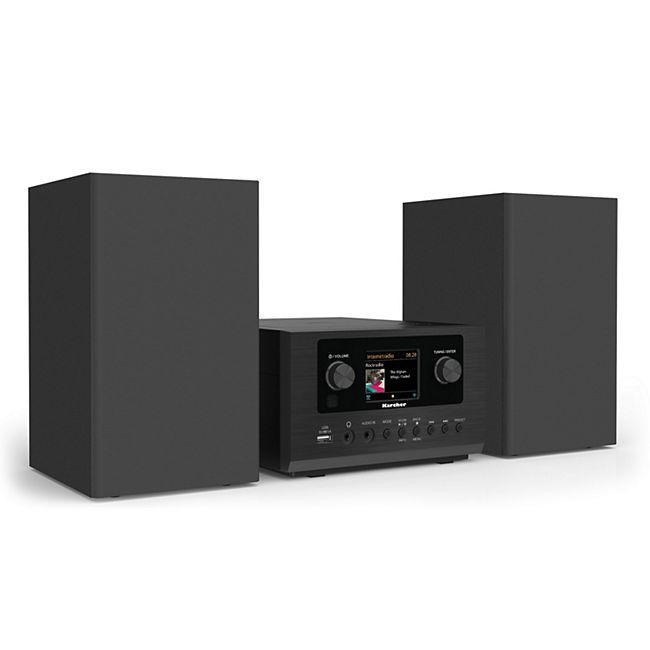 Karcher MC 6490DI Stereoanlage inkl. AUX, Bluetooth, CD, DAB+, Internetradio, UKW, WLAN & USB - Bild 1