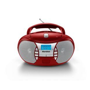 Karcher RR5025-R Boombox mit CD-Player und Radio - Bild 1
