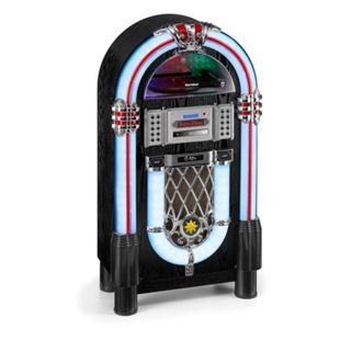 Karcher JB6608D Jukebox mit Plattenspieler, CD-Player, DAB+, Bluetooth und USB - Bild 1