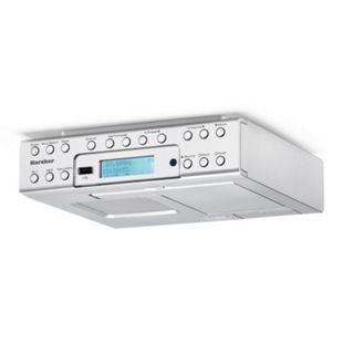 Karcher RA2030D Unterbau-Küchenradio inkl. einklappbare Ablage für Smartphones - Bild 1