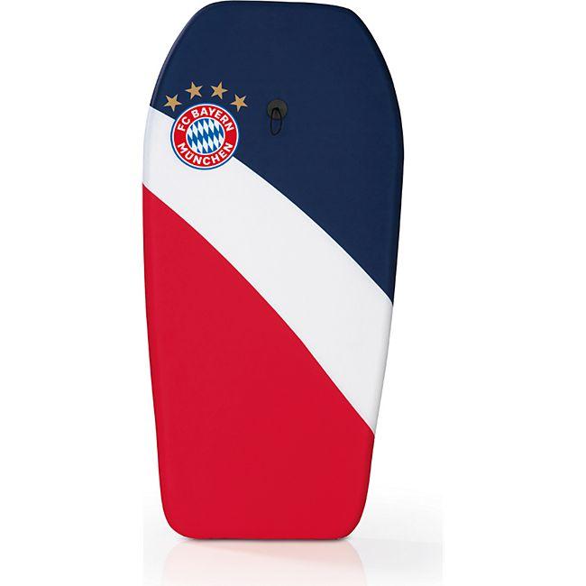 FCB Schwimmbrett rot mit Logo - Bild 1