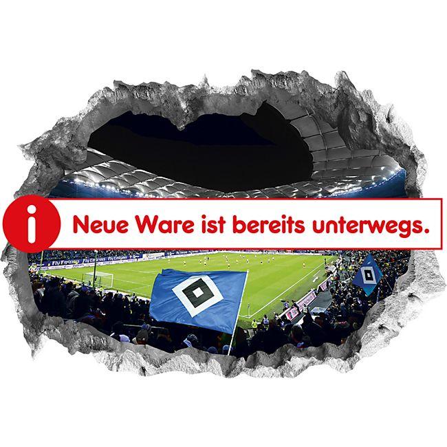 HSV Wandtattoo 3D Volksparkstadion - Bild 1