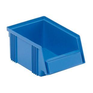Treston 1015-6 Sichtlagerkasten 10,5 x 16,5 x 7,5 cm, blau - 60 Stk - Bild 1