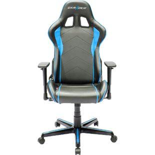 DXRacer Gaming Stuhl, OH/FH08/NB, F-Serie, schwarz-blau - Bild 1