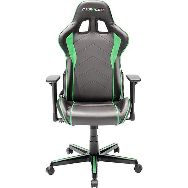 DXRacer Gaming Stuhl, OH/FH08/NE, F-Serie, schwarz-grün - Bild 1