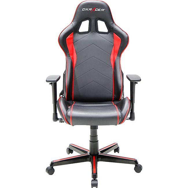 DXRacer Gaming Stuhl, OH/FH08/NR, F-Serie, schwarz-rot - Bild 1