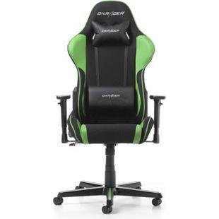 DXRacer Gaming Stuhl, OH/FH11/NE, F-Serie, schwarz - grün - Bild 1