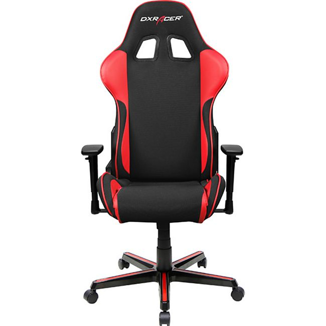 DXRacer Gaming Stuhl, OHFH11NR, F Serie, schwarz rot