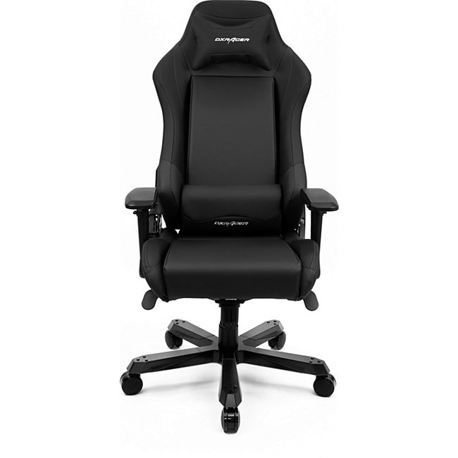 DXRacer Gaming Stuhl, OH/IS11/N, Iron Series, schwarz - Bild 1