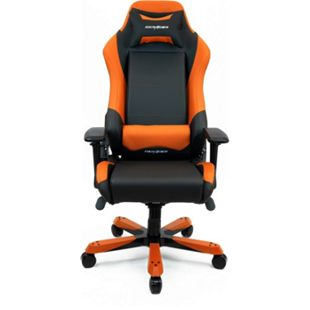 DXRacer Gaming Stuhl, OH/IS11/NO, Iron Series, schwarz-orange - Bild 1