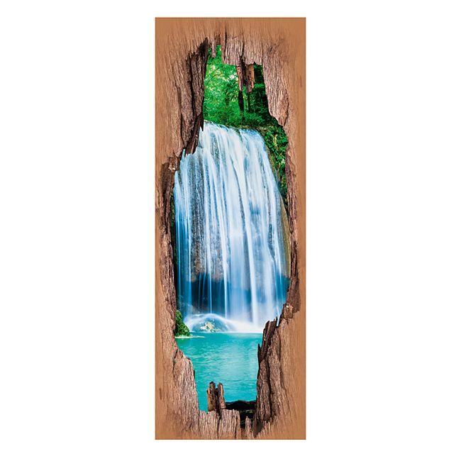 Easymaxx 3d Wandtattoo Wasserfalle Online Kaufen Bei Netto