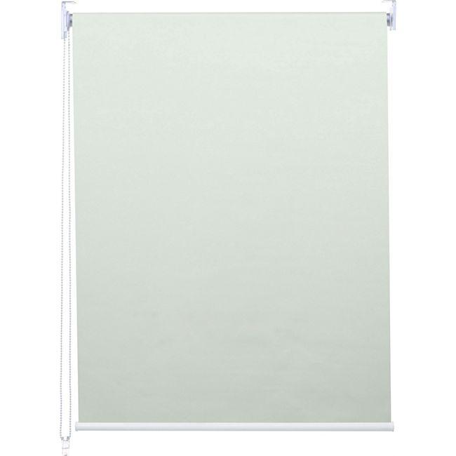Rollo MCW-D52, Fensterrollo Seitenzugrollo Jalousie, Sonnenschutz Verdunkelung blickdicht 120x230cm ~ creme - Bild 1