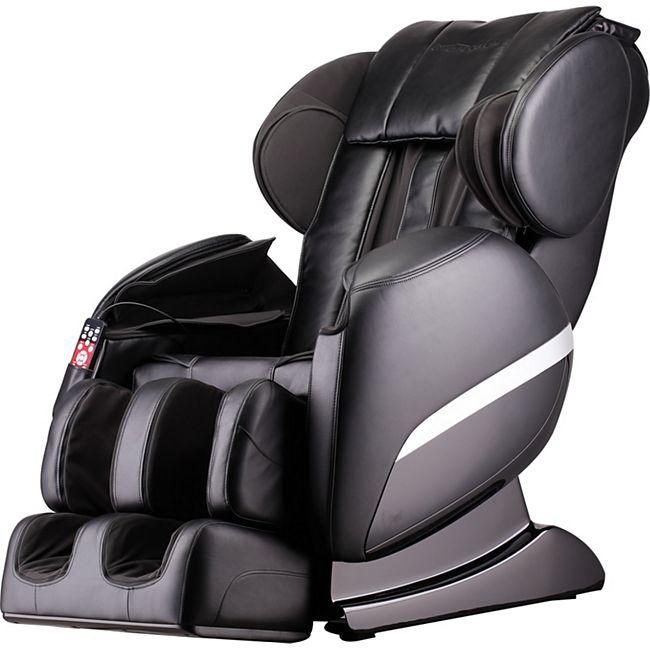 Home Deluxe Massagesessel Siesta V2, schwarz - Bild 1