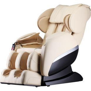 Home Deluxe Massagesessel Siesta V2, beige - Bild 1