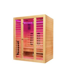 Home Deluxe Infrarotkabine Redsun L Deluxe mit Vollspektrumstrahlern - Bild 1