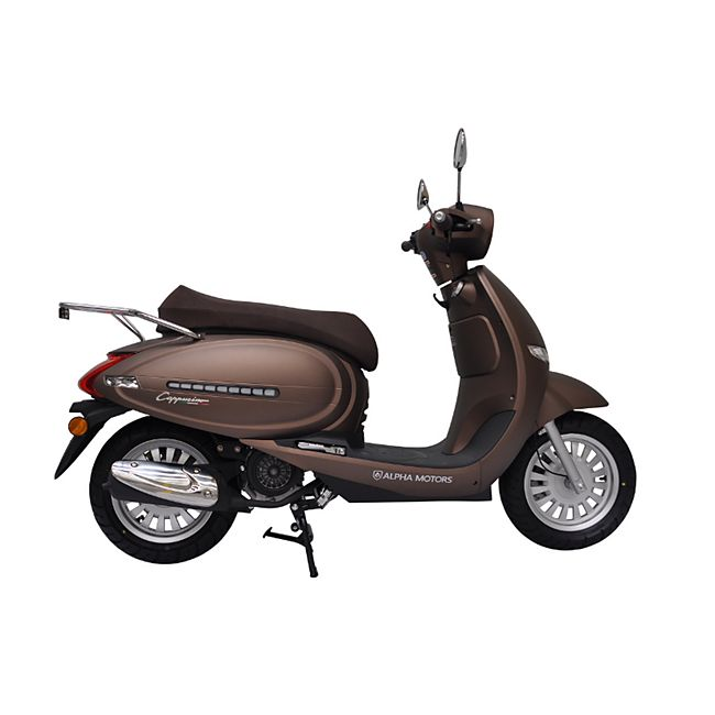 Alpha Motors Motorroller Cappucino 125 ccm 80 kmh braun - Bild 1