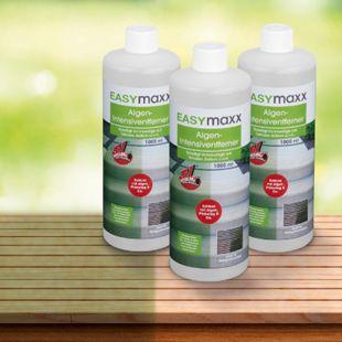 EASYmaxx Reinigungsmittel Algen/Flechten/Pilze 3er-Set 1000ml - Bild 1