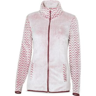 Damen Kontrast-Fleecejacke - rosé melange, Gr. M - Bild 1