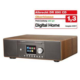 Albrecht DR890 CD/Hybridradio / Exzellenter Raumklang dank Holzgehäuse Walnuss - Bild 1