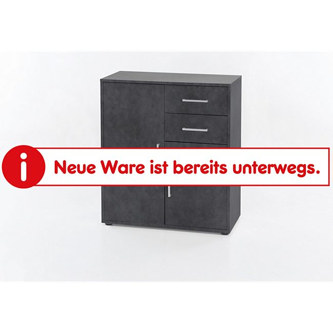 Kommode mit 2 Türen und 2 Schubladen - Bild 1