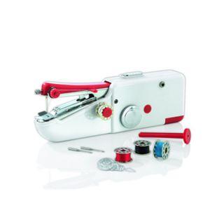 EASYmaxx Hand-Nähmaschine Kompakt 6V weiß - Bild 1