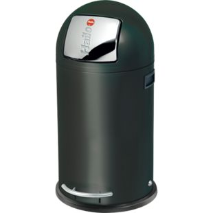 Hailo KickMaxx L Großraum-Abfallboxen, schwarz - Bild 1