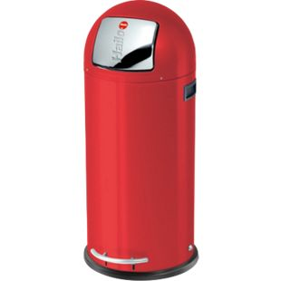 Hailo KickMaxx XL Großraum-Abfallboxen, rot - Bild 1
